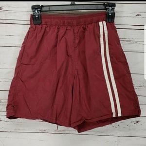 5779dfc93a Speedo Shorts | Final Price Vtg Mens Red Swimming Trunks M | Poshmark